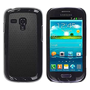 TopCaseStore / la caja del caucho duro de la cubierta de protección de la piel - Simple Pattern 21 - Samsung Galaxy S3 MINI NOT REGULAR! I8190 I8190N