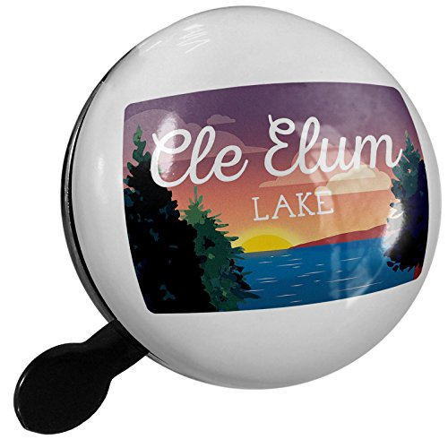 Small Bike Bell Lake retro design Cle Elum Lake - NEONBLOND by NEONBLOND