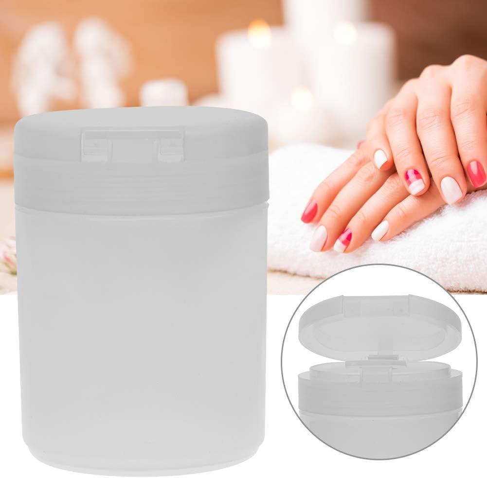 Caja para botellas de uñas - Polvo para contenedores de esmalte de uñas con almohadillas de algodón y organizador de polvo para la caja de almacenamiento(rosa): Amazon.es: Bricolaje y herramientas