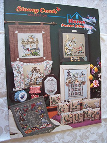 Home Sweet Stitching, Stoney Creek Collection Cross Stitch Book - Stitch Patterns Creek Stoney Cross