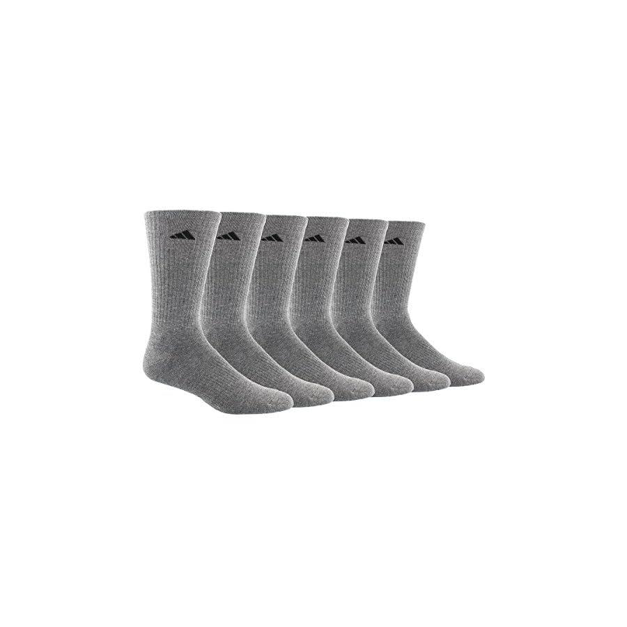 adidas Men's Athletic Crew Socks (6 Pack or 12 Pack)
