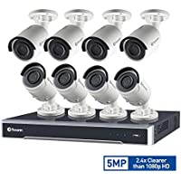 Swann SWNVK-167508-US 16 Channel HD IP Security System Kit Network Video Recorder NVR with 3TB HDD & 8 x 5MP Surveillance Cameras