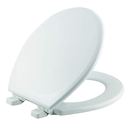 Mayfair Toilet Seat Installation.Mayfair Toilet Seat Will Slow Close And Never Loosen Round Durable Enameled Wood White 43slow
