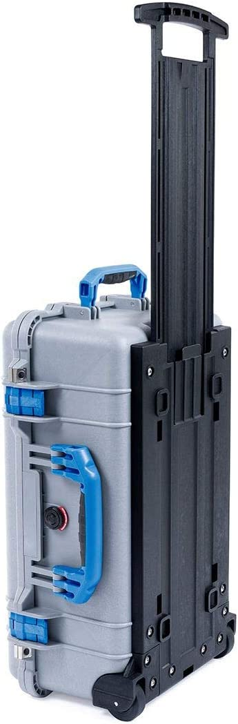 Silver /& Blue Pelican 1510 case with Foam.