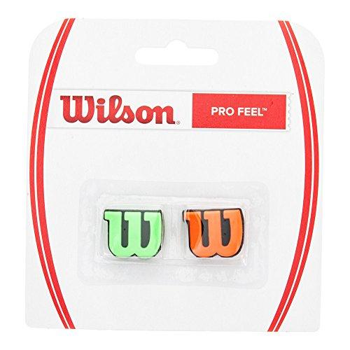 Wilson Pro Feel Vibration Dampener (Orange/Green) (Wilson Vibration Dampeners)