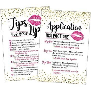 Amazon Com 25 Lipstick Application Instructions Tips And Tricks