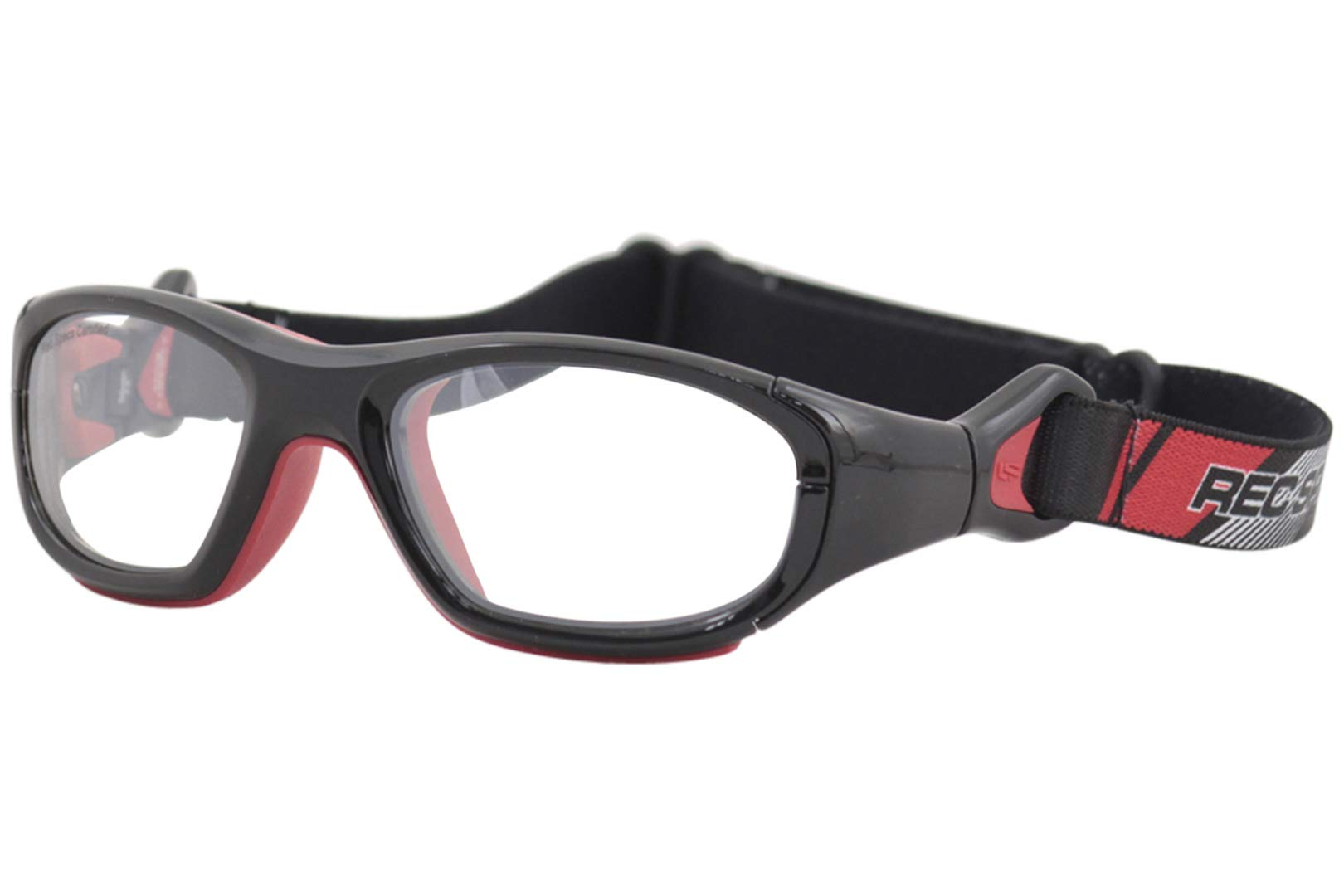 Liberty Sport Youth Rec-Specs RS41 RS/41 221 Black/Red Rectangle Sunglasses 52mm by Liberty Sport
