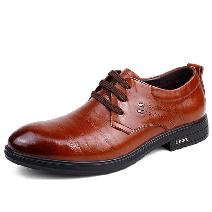 35330ee14c15d DAN Calzado De Trabajo Zapatos De Cuero De Gamuza De Cuatro Estaciones  Zapatos De Cuero De Gamuza Zapatos Casuales De Negocios Zapatos De Vestir  Al Aire ...