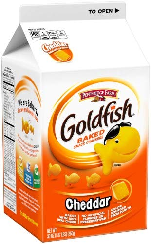 Pepperidge Farm Goldfish Cheddar Crackers (Pack of 2)