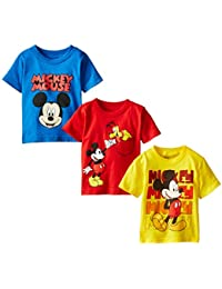 Boys' Mickey Mouse 3-Pack T-Shirts
