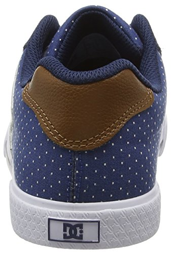 Shoes blue Blau Se white brown Donna Sneaker Xbcw Dc Chelsea gR6wCqq