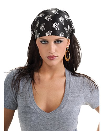 Womens Pirate Hat (Rubie's Costume Co Pirate Bandana Costume)