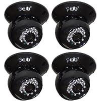 CIB CUC8401-4 420TVL indoor CCD Dome IR Day Night Security Camera Sharp Sensor.
