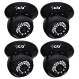CIB CUC8401-4 420TVL indoor CCD Dome IR Day Night Security Camera Sharp Sensor. Review