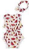 Leapparel 2pcs Infant Girls Bodysuit Summer