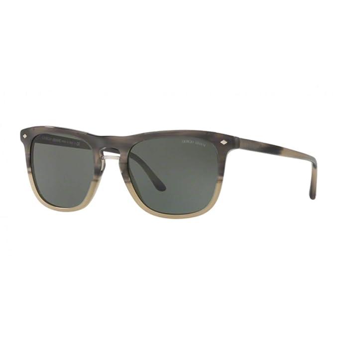 Armani 0AR8107, Gafas de Sol para Hombre, Grey B/Color, 53 ...