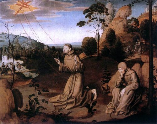 (painters (2) Masters St Francis Altarpiece (central panel) - 20.05