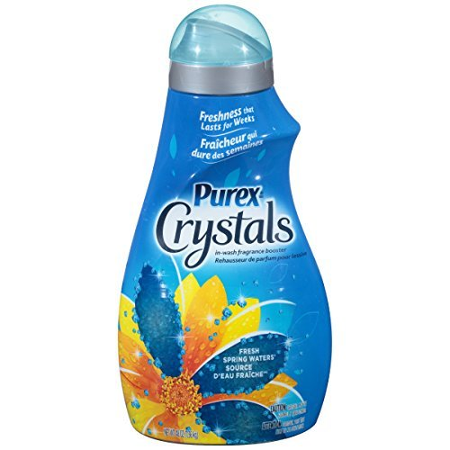 Purex Crystals In-Wash Fragrance Booster, Fresh Spring Waters, 48 Ounce by Purex