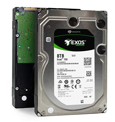 Seagate Enterprise Capacity 3.5 | ST8000NM0075 | 8TB 7200 RPM SAS 12Gb/s 256MB Cache | 512e | Internal Hard Disk Drive - Sas Seagate Hard Drives