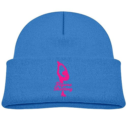 Kocvbng I Beanie Cap Figure Skating Girl Winter Knit Hat Baby ()