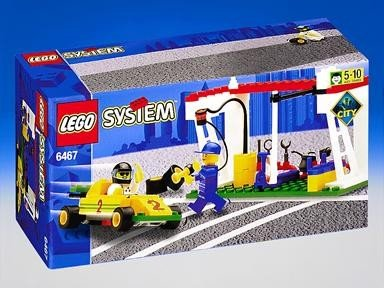 Lego System Power Pitstop (Systems Pit)