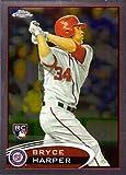 2012 Topps Chrome Baseball #196 Bryce Harper Rookie Card