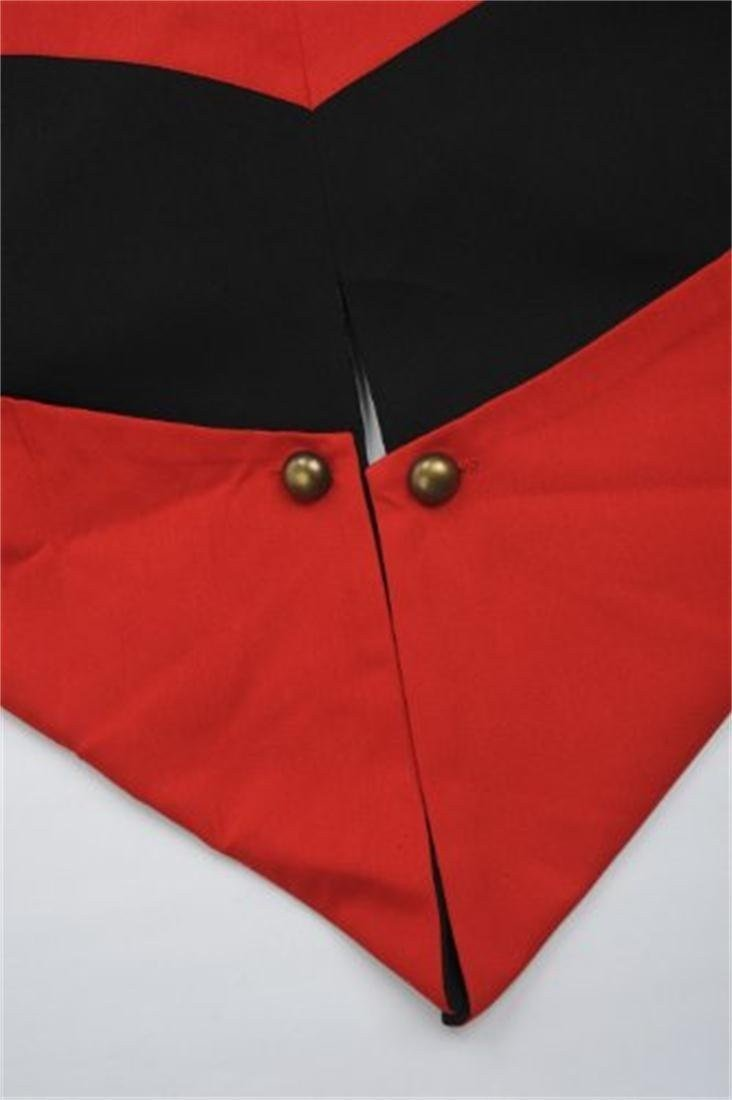 Cosplay Costume Hoodie/Jacket/Coat-9 Options for the fans,Black with Red,Men Large by BuyChic (Image #4)