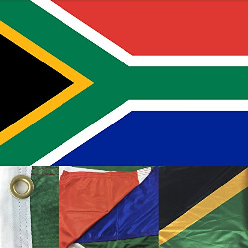 South Africa Flag 2' x 3' Ft Premium 130g Polyester Outdo...