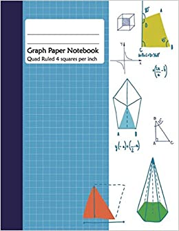 graph paper notebook 1 2 inch square graph paper pages 2 square