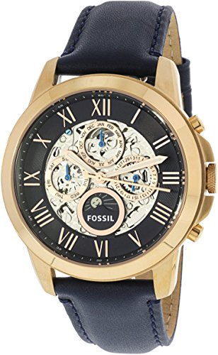 Fossil Men's ME3029 Grant Automatic Watch With Blue Leather Band
