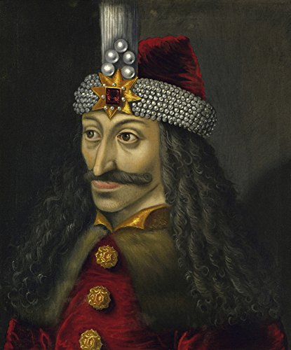Posterazzi Vintage European history painting of Vlad the Impaler Prince of Wallachia Poster Print (12 x 15)