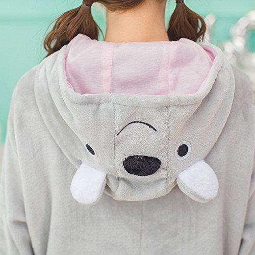 Adult Pyjama Cosplay Tier Onesie Body Nachtwäsche Kleid overall Animal Sleepwear Erwachsene Koala