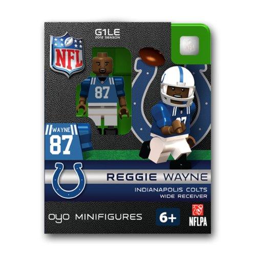 NFL Indianapolis Colts Reggie Wayne Figurine ()