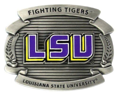 (LSU Tigers - College Oversized Belt Buckle)