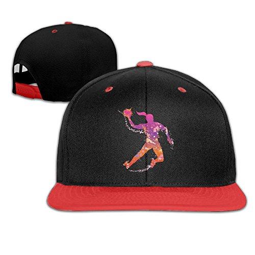 Qiop Nee Colorful Handball Player Child Hat and Hip Hop Baseball Cap Boy Girl (Twill Player)