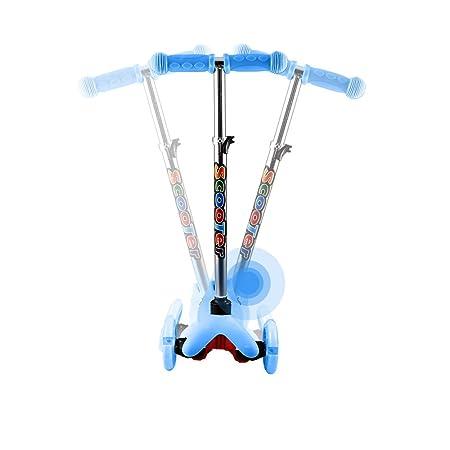 Amazon.com: WeSkate - Patinete infantil de 3 ruedas con ...