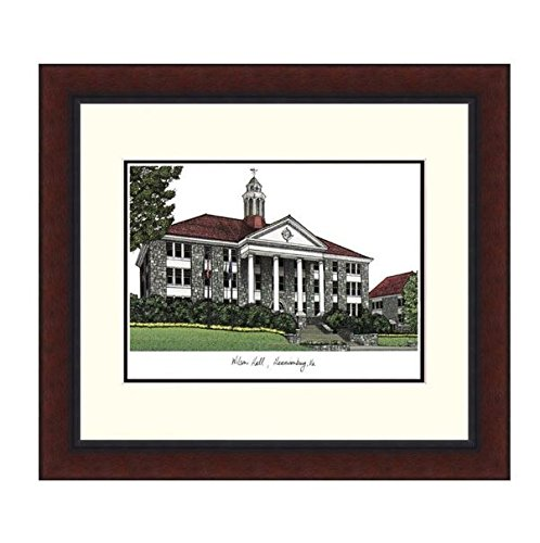 K&A Company Campus Images Legacy Alumnus Lithograph Picture Frame - NCAA James Madison University