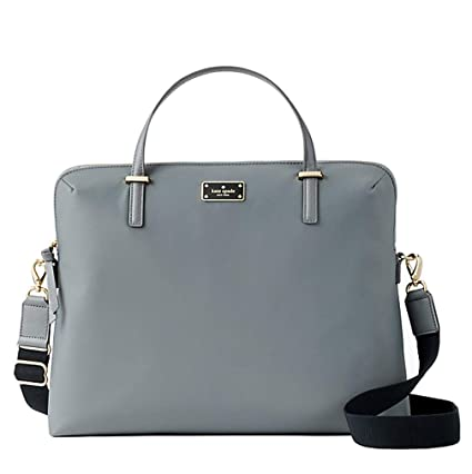newest e5aa6 d12c0 Kate Spade New York Daveney Wilson Road Laptop Shoulder Bag - Smokey Pearl