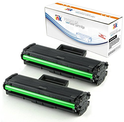 Starink 2 Pack D101S 101S MLT-D101S Compatible Samsung Toner Cartridge Replacement for Samsung LaserJet ML-2165W SCX-3405FW SCX-3405W SCX-3400FW SP-760P SCX-3400F Printer