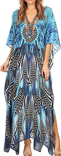 kaftan dress long - 6