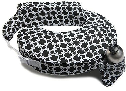 Zenoff Products My Brest Friend Nursing Pillow, Black and White Marina by Zenoff Products