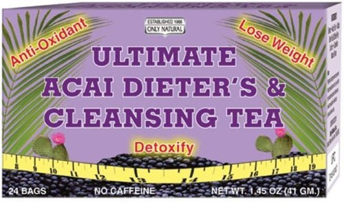 - Only Natural Ultimate Acai DieterS And Cleansing Tea - 24 Tea Bags