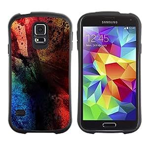 """Hypernova Slim Fit Dual Barniz Protector Caso Case Funda Para Samsung Galaxy S5 [Colores""""]"""