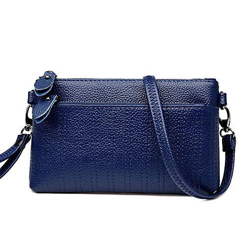 Hombro Paquete Azul la Bolso Eeayyygch de Rojo Color tamaño Paquete Azul Sobre Mujeres Moda de Diagonal Las Embrague de Bordado del del xa6xHq8F
