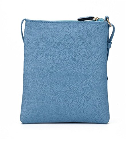 Purses Women Leather Blue Handbags For Nodykka Crossbody Pouch Shoulder Bag Cell Phone Wallet Pu Z7Bwzx