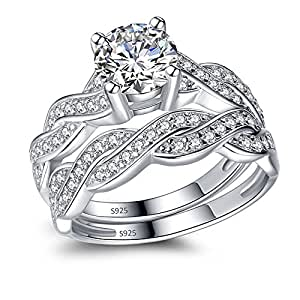 Amazon.com: MABELLA 925 Solid Sterling Silver Matching