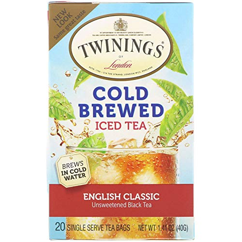 - Twinings English Classic Cold Brewed Tea - 20 Count (2 Pack)