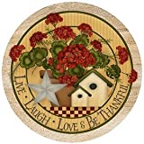 Live Laugh Love - Sandstone Thirstystone Coasters
