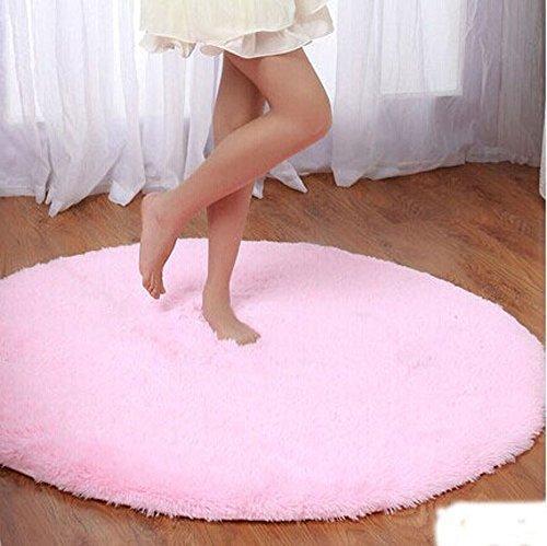 Princess Dream Round Shaggy Area Rug