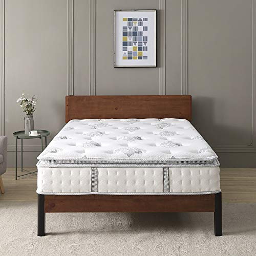 Classic Brands Mercer Pillow Top Cool Gel Memory Foam and Innerspring Hybrid 12